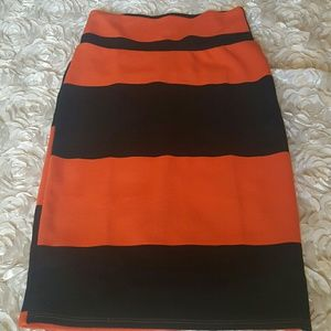 LuLaRoe Skirts - Lularoe cassie pencil skirt xs striped